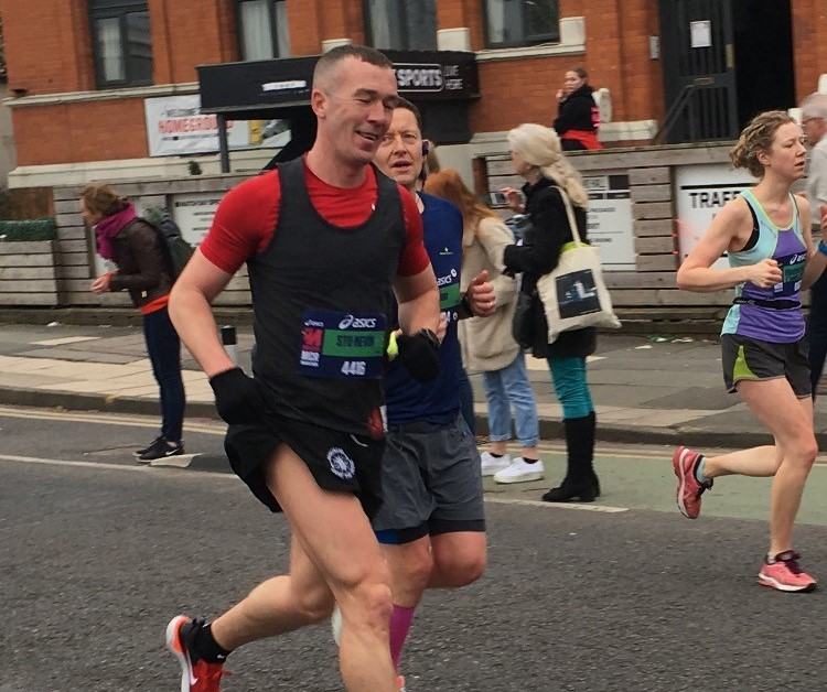 Super Stu Smashes Marathon Personal Best!