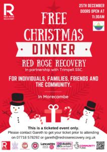 Free Christmas Dinner @ Morecambe   Morecambe   England   United Kingdom